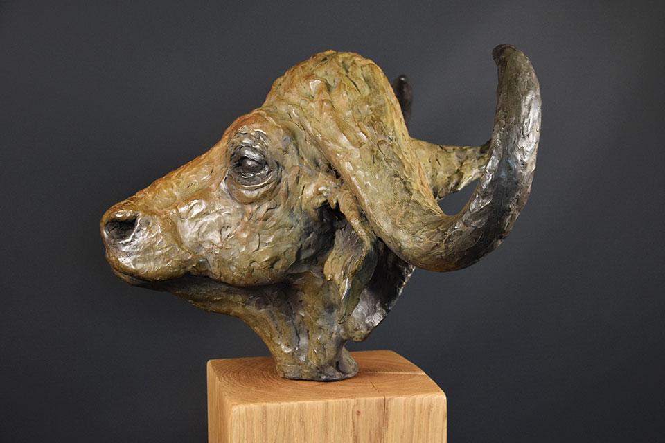 buffel-in-brons-links